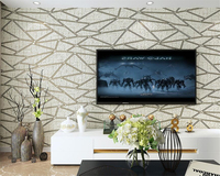Beibehang 3dデラックスリビングルームのテレビの背景3d壁紙現代の寝室の壁紙ベージュブラウン壁紙ロールpapelデparede