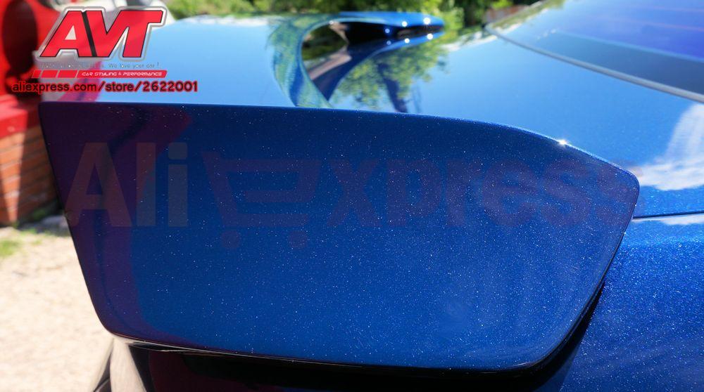 Спойлер авиакрыло для Kia Rio 3/K2 2011-2016 спортивный стиль Тюнинг автомобилей Автомобильные аксессуары литья украшения Aero динамичный гоночный