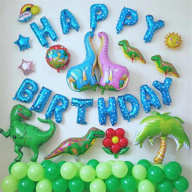 LA MIU Hot Sale 68 96CM Dinosaur Balloons Aluminum Foil Cartoon Party  Supplies Toys Children Kids Baby Gift For Fun Decoration 6de13d8d52fb