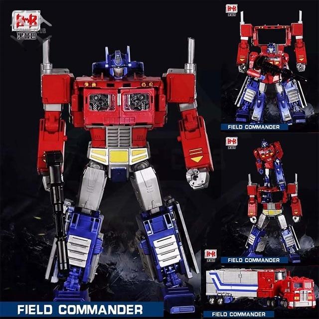 קומיקס מועדון BMB G1 שינוי OP שדה מפקד Oversize להגדיל PP 09 PP09 פעולה איור רובוט צעצועים
