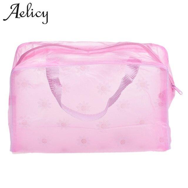 Aelicy高品質ポータブルメイク化粧品トイレタリー旅行洗浄歯ブラシポーチオーガナイザーバッグpk