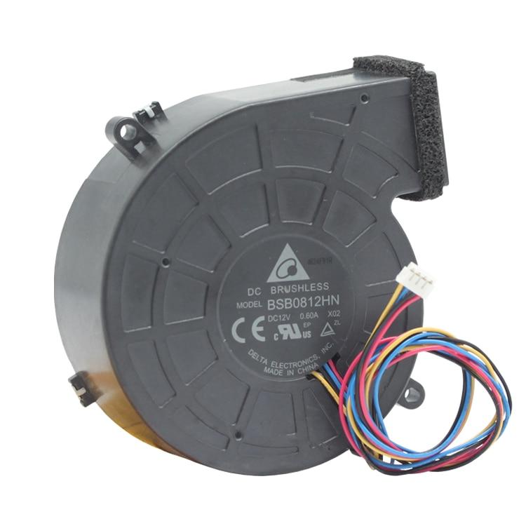 Delta Electronics BSB0812HN X02 Server Blower Fan DC 12V 0.60A 80x80x28mm 4-wire