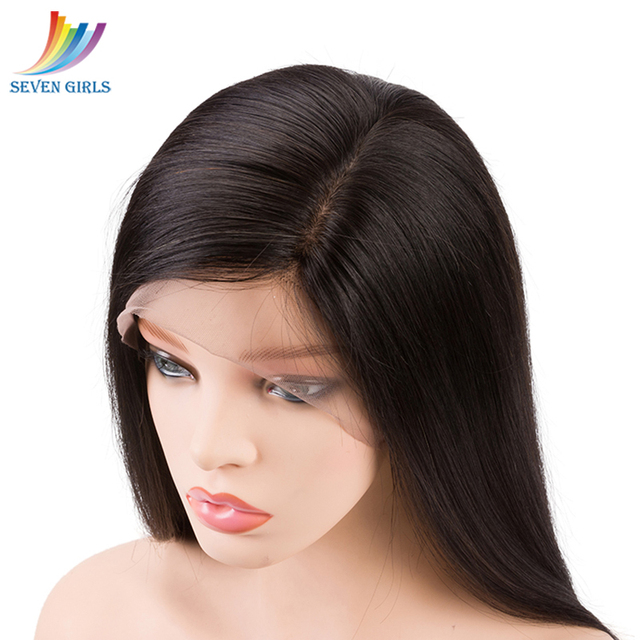 1*6 Brazilian Straight Lace Front Human Hair Wigs Natural Color Remy Hair Side Part Human Hair Wigs 10-26 Inch Free Shipping 2