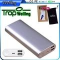 Tropweiling 18650 Power Bank 15000 мАч Резервного аккумулятора и портативное зарядное устройство Powerbank dual usb внешняя батарея для Всех телефонов