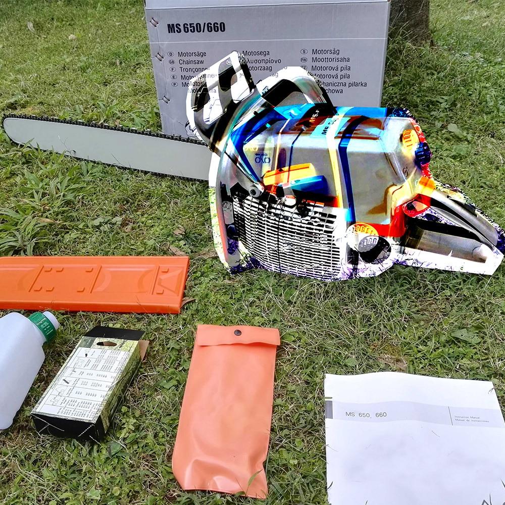 92cc верижен трион Безплатна доставка - Градински инструменти - Снимка 5