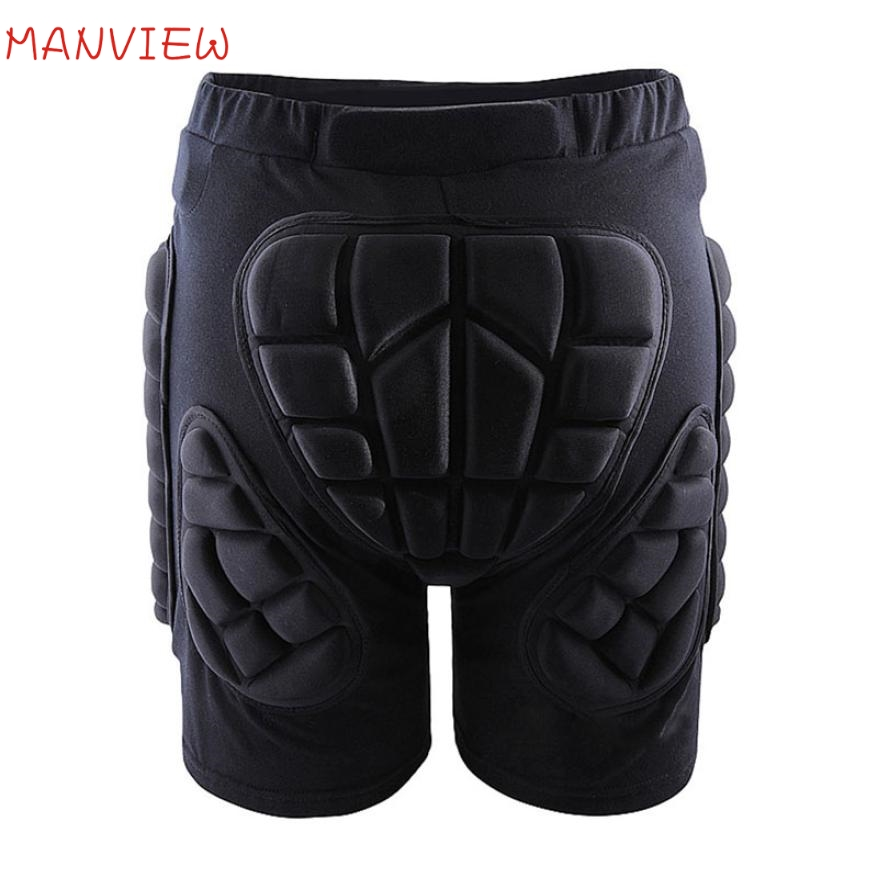 Prix pour Activing Extérieur Hip Gear De Protection Rembourrée Shorts Skate Snowboard Patinage Pantalon Drop Shipping OCT19
