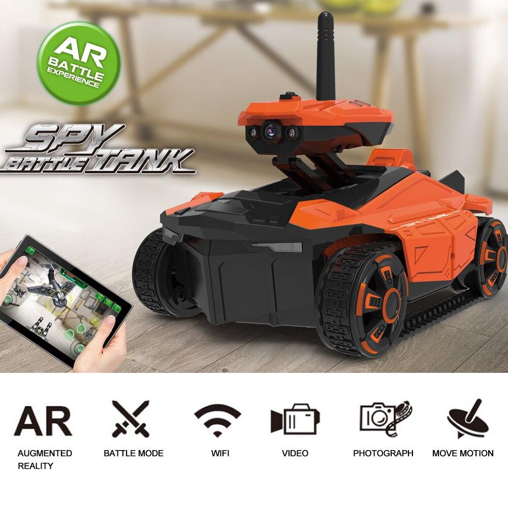 Attop YD-211 WiFi real-time transmission of high-definition aerial video car Mini tank car intelligent  car toys rc car стоимость