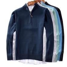 Winter thick warm cotton brand sweater men turtleneck sweater men slim pullover men classic sweater coat clothes цена