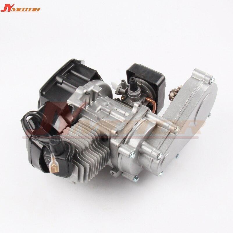 49CC moteur wTRANSMISSION poche MINI vtt vélo SCOOTER