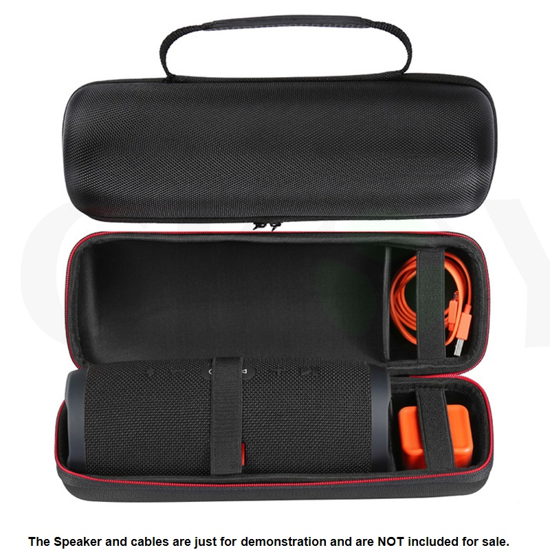 imágenes para Cubierta Protectora de Viaje Carry Case Bolsa Bolsa Portátil Para JBL carga 3 Charge3 Altavoz Bluetooth Extra Espacio Para Plug & Cables