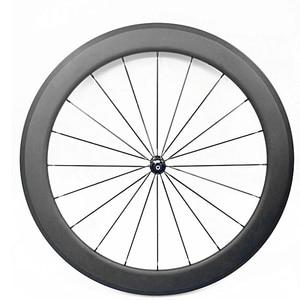 Image 3 - free shipping carbon wheels road clincher tubular 50mm bike wheels carbon wheelset 700c carbon road bike wheels 23mm 25mm width
