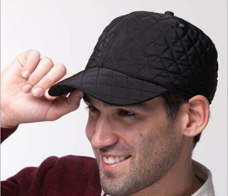 Prix pour 2015 os casquette de baseball hommes automne hiver Russie Casquettes casquette Chapeaux Épais chaud cache-oreilles des hommes de chapeau homme En Plein Air touca