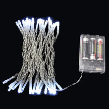 3M 4M 5M 10M LED Holiday String lights 3XAA Battery Operated xmas Christmas lights for Festival Garland Party Wedding Decoration(China)