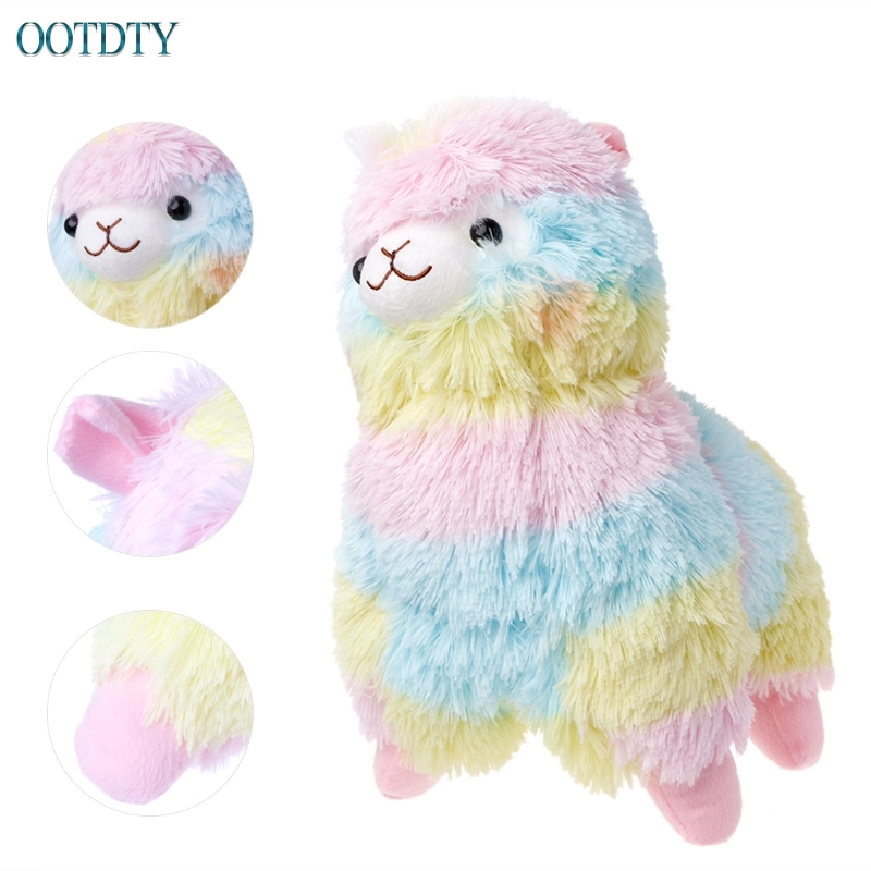 Lama Alpacasso Doll Cotton Stuffed Animal Toys Rainbow Amuse Alpaca Plush Toy S Size #330 animal свитшот animal dano k24 s