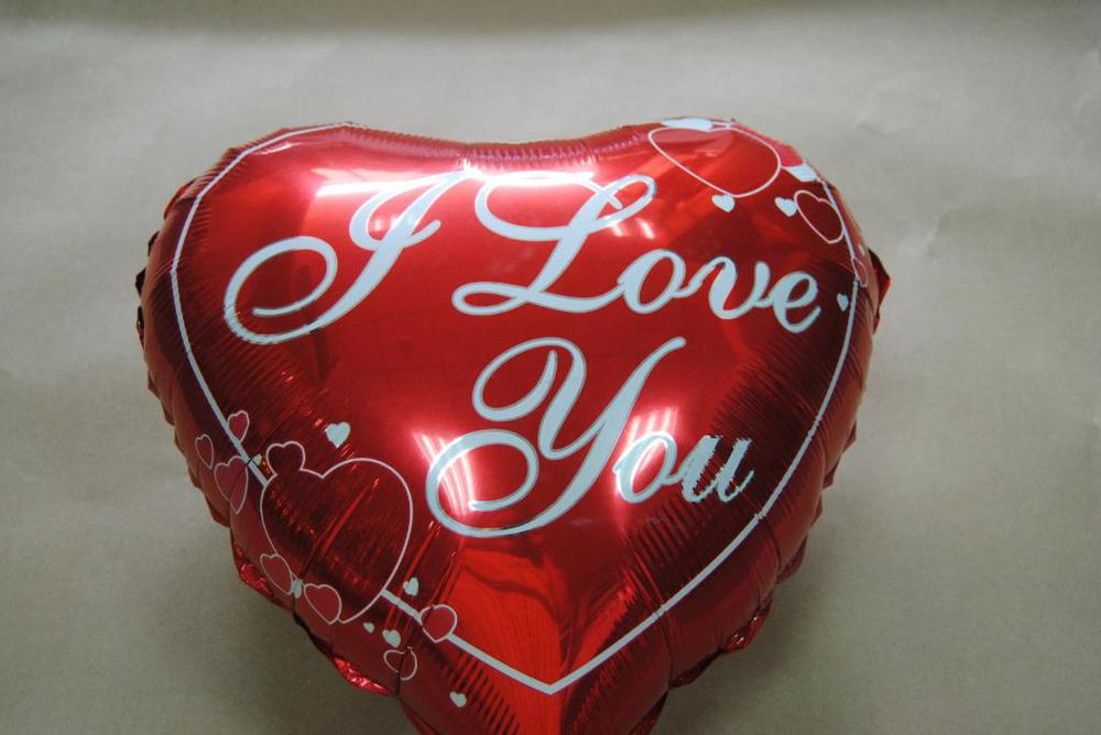Pt0041 red heart i love you heart shaped mylar foil balloon pt0041 red heart i love you heart shaped mylar foil balloon anniversary love gifts 19 inch 10pcslot free shipping in balloons from toys hobbies on negle Image collections