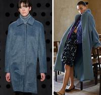 Wholesale Diamond Blue Double Sided Wool Alpaca Fabric Sweater Process Tweed Fabric Fleece Cashmere Plush Fabric
