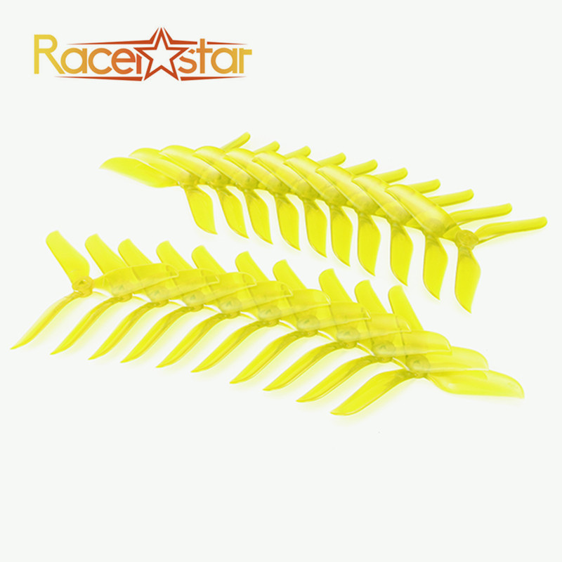 Free Shipping 10 Pairs 20x Racerstar V2 5048 5x4.8x3 3 Blade Racing Propeller Blade 5.0mm Mounting Hole for FPV Racer RC DronesFree Shipping 10 Pairs 20x Racerstar V2 5048 5x4.8x3 3 Blade Racing Propeller Blade 5.0mm Mounting Hole for FPV Racer RC Drones