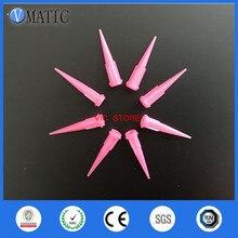 100 шт 20G TT конические наконечники дозирующие иглы розовый цвет пластиковая игла для шприца