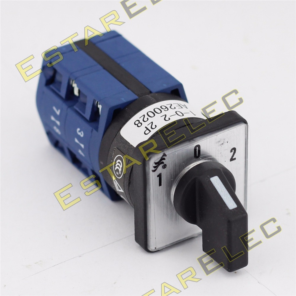 10A Cam Schalter 1 0 2 3 Pole 12 terminals (CE, CCC, tüv zertifikat ...