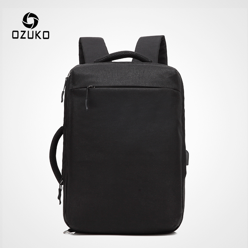 OZUKO New Men Laptop Backpack Water Repellent Schoolbag For Teenager Student Casual Style Backpack Women Travel Mochila Rucksack