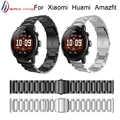Per Originale Xiaomi Huami Amazfit Stratos 2 2 S/Per amazfit ritmo del braccialetto della cinghia di smart watch band 22 millimetri In Acciaio in acciaio Wristband
