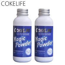 2pcs COKELIFE Solid Powder Sex Lubricant Water Base Mixed Using With Hot Water O