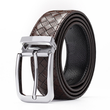 cow genuine leather men luxury strap male belts for new fashion classice vintage pin buckle belt designer High Quality