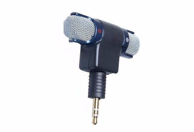 For gopro accessories External Stereo Microphone 3 5 mm Mini USB Mic Adapter Cable for GoPro Hero 3 3 4 4 session Action Camera