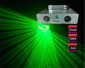 Hot sale 200mw green laser dmx  stage laser light dj equipment disco lighting sound active