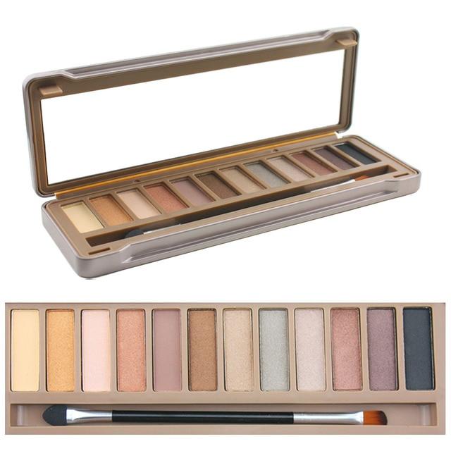 TYA 12 nude color NK 1 heart Smoky eyeshadow Palette Balm