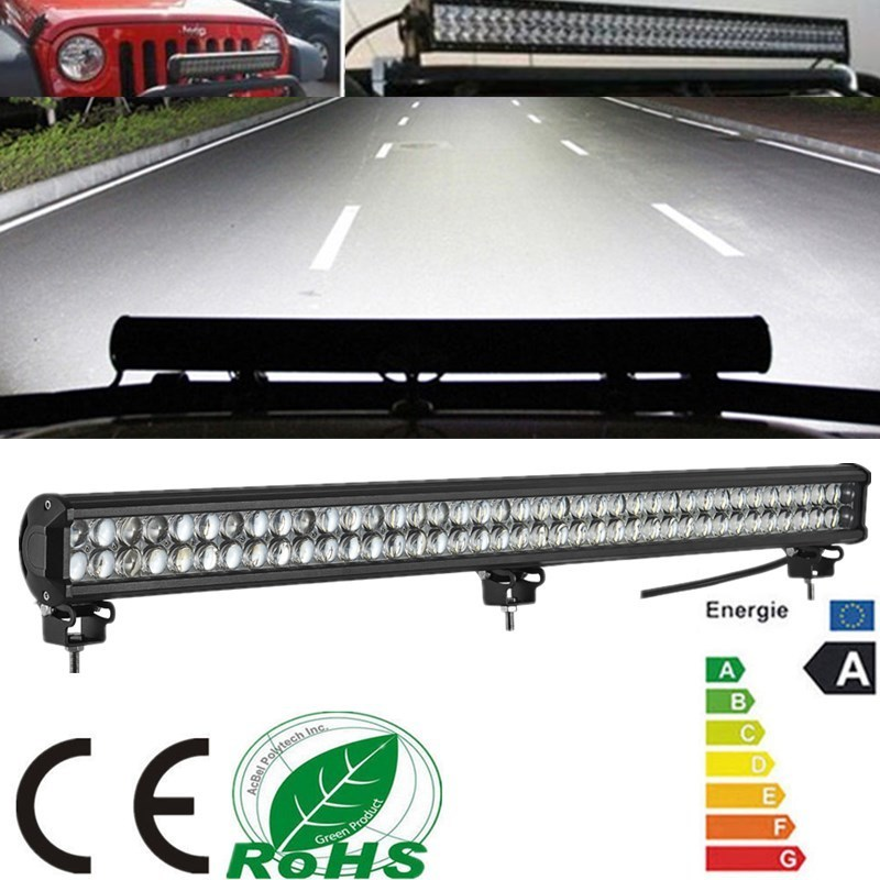 Wholesale 32 Inch 180W LED Light Bar for Off Road Indicators Work Driving Offroad Boat Car Truck 4x4 SUV ATV Fog Combo 12V 24V foxstar 2 pcs set 3 9 inch 18w 4x4 off road led offroad light bar for truck boat atv suv spot beam 1440 lm ip67 universal