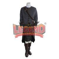 Outlander ТВ серии карнавальный костюм Джейми Фрейзер карнавальный костюм Человек наряд