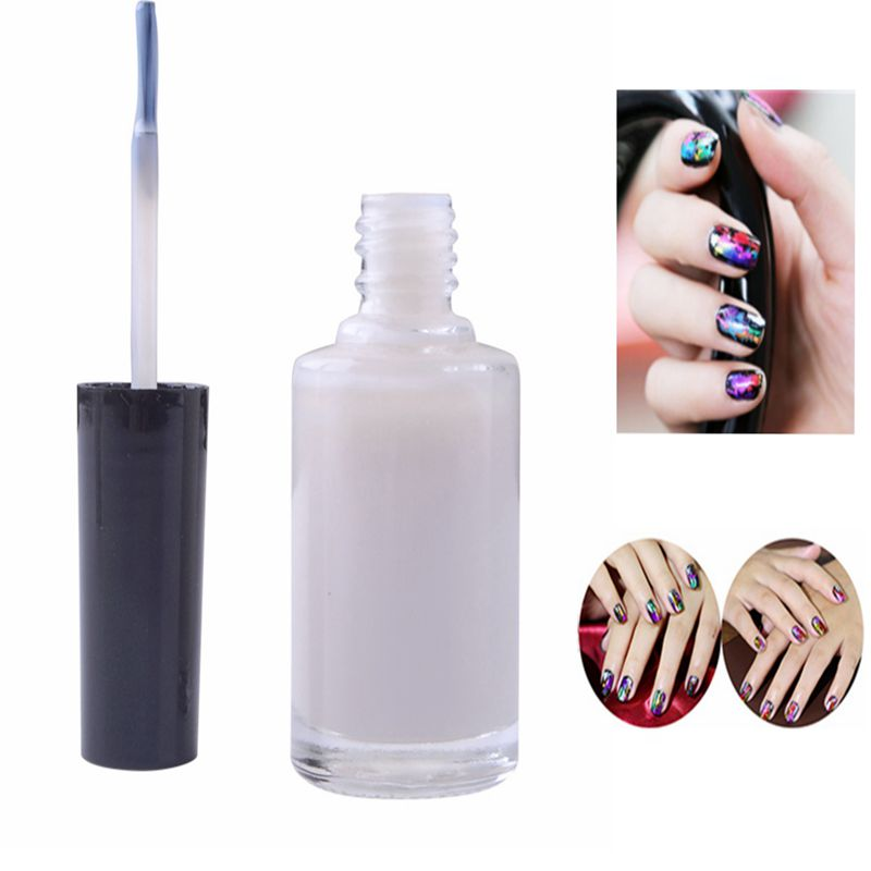 2019 Fashion Ukiyo 1pcs Pro Nail Art Glue For Foil Sticker Nail Transfer Tips Adhesive 15ml White Glue Liquid Star Nails Gel Polish Manicure Can Be Repeatedly Remolded. Beauty & Health