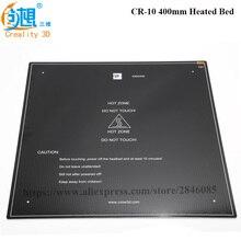 Макс 310*310/410*410/510*510*3 мм heatbed Модернизированный лобового стекла с подогревом 12V кровать Алюминий MK3 для CR-10 CR-10S CR-10 S5 3d принтера рассадник запчасти