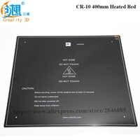 Max 310*310/410*410/510*510*3MM heatbed Amélioré 12V Lit Chauffant En Aluminium MK3 pour CR-10 CR-10S CR-10 S5 3d imprimante Foyer pièces