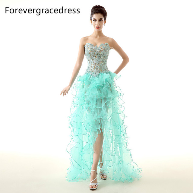 Forevergracedress Real Picture Mint Green Prom Dress New Style ...