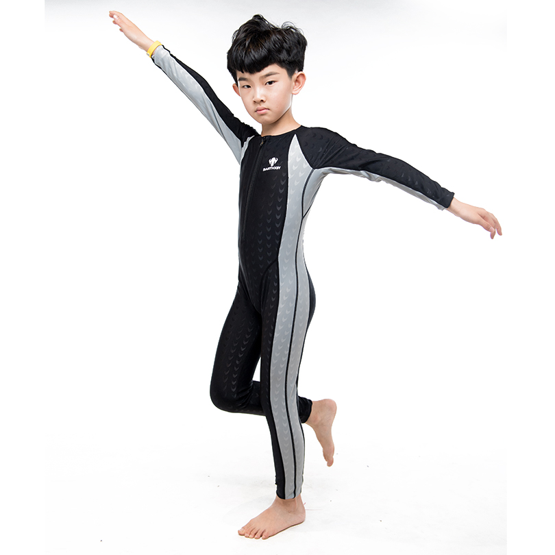 Girls swimming Boys swimsuit One-piece swimsuit Comfortable and quick to dry Teen swimwear Professional swimwearTraining only 2017 new mens swimming professional swimwear one piece boys sports quick dry elastic surfing assorted colors bodysuit ventilate