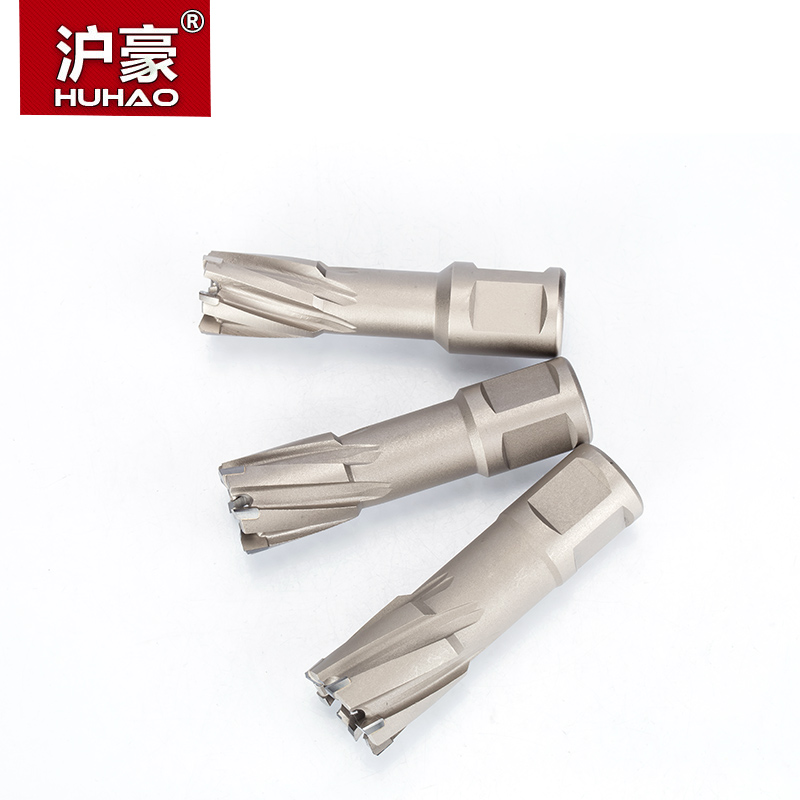 Купить с кэшбэком HUHAO 1pc Alloy Metal Drilling Hollow Core Steel Drill Bit Core Drill Iron Punch Magnetic Drill Dia.12-39mm Cutting Depth 35mm
