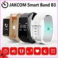 Jakcom b3 smart watch nuevo producto de pulseras como muñequera podómetro inteligente pulsera gps cambiar el idioma inglés