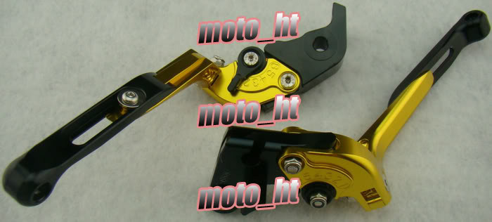 Складные сцепные рычаги Набор для Yamaha YZF R1 2009 2010 2011 2012 Золото