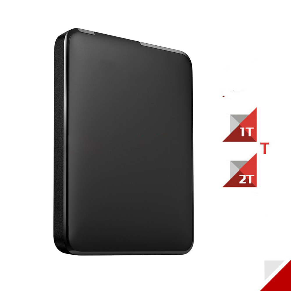 Usb-Hard-Drive Element HDD External Portable 1TB Black