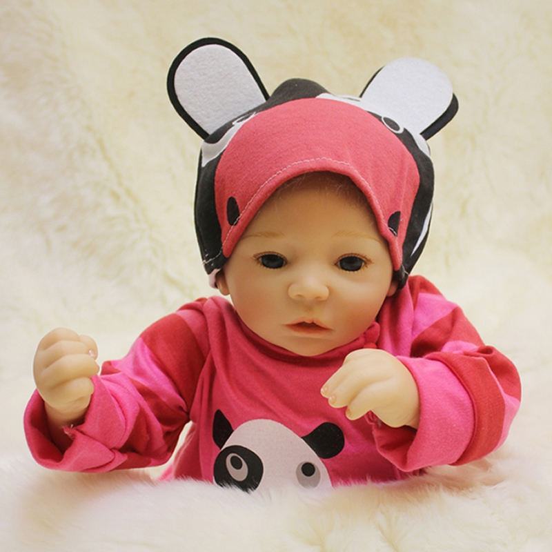 New Reborn Baby Dolls Princess Girl Babies Silicone Cloth Body 20 Inch 50 cm Newborn Doll Toy With Curved Mohair For Sale