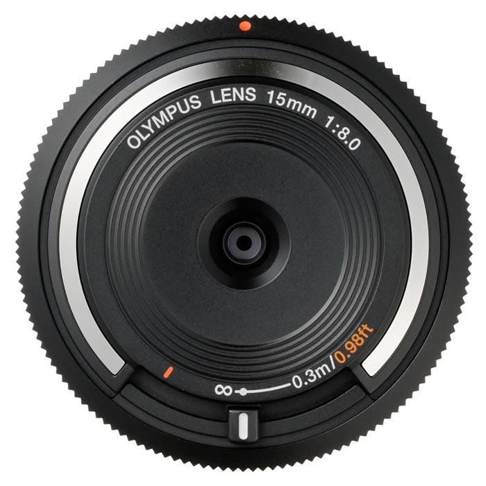 Macro 4/3! objectif 15mm f/8.0 BodyCap/BCL 1580 pour Olympus EP2.EP3. EPL3.EPL5. EPM1.EPM2. Pour Panasonic G2; G3; GF2; GF3; GF5; GH1; GH2; GX1-in Caméscope Lentilles from Electronique    1