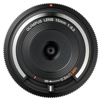Makro 4 3! 15mm f 8 0 BodyCap obiektyw BCL-1580 do Olympus EP2 EP3 EPL3 EPL5 EPM1 EPM2 Dla Panasonic G2 G3 GF2 GF3 GF5 GH1 GH2 GX1 tanie i dobre opinie Kamery 56mm Stałej ogniskowej obiektywu 2011 BCL-1580 (15mm f8) Brak Normalny obiektyw