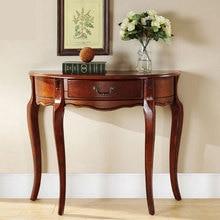 Консольный стол, гостиная, мебель для дома, Массивный деревянный столик, стол для крыльца, полукруглый Американский стол для коридора