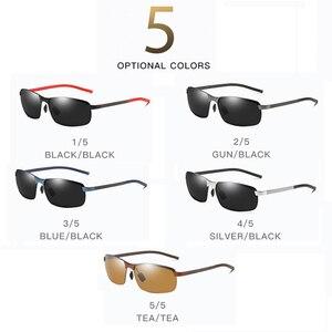 Image 5 - 2019 Nieuwe Carbon Fiber Hoge Kwaliteit Zonnebril Gepolariseerde UV400 Brand Design Mode Mannelijke Zonnebril Vrouwen Voor Mannen Oculos De sol