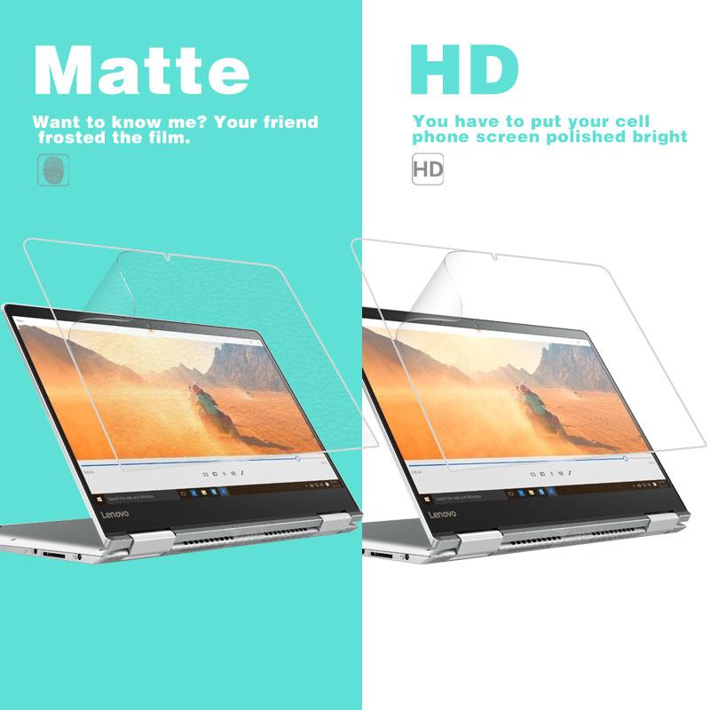 ★  HD прозрачная глянцевая пленка Lenovo Yoga 710-14 14 в матовой пленке с защитой от отпечатков пальце ①