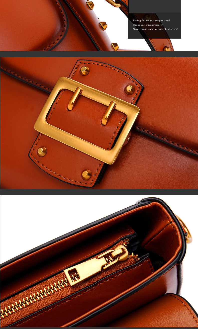 Vintage Real Leather Wide shoulder strap Handbag premium quality fashion genuine leather Shoulder Bags of Famous Brand (15)