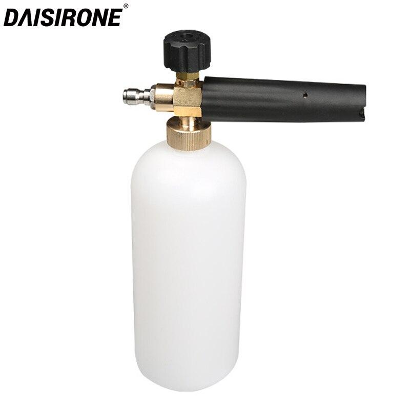 Pressure Washer Jet Wash 1//4 Quick Release Adjust Snow Foaming Car Wash Foam