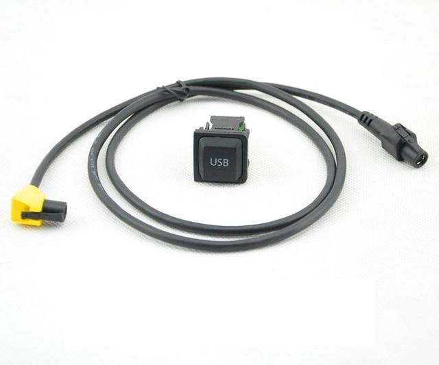 rcd510 rns315 kabel und usb anschluss. Black Bedroom Furniture Sets. Home Design Ideas